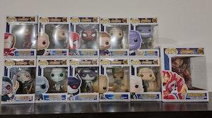Avengers Infinity War set