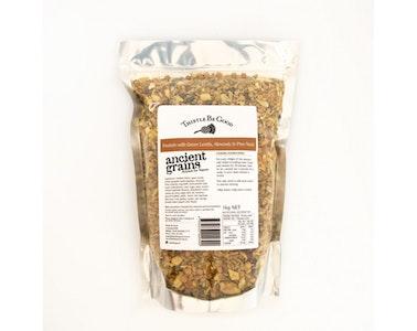 Bulk Freekeh Green Lentils, Almonds and Pine Nuts