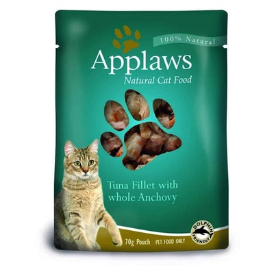 Applaws Tuna & Anchovy Pouch Wet Cat Food 70G
