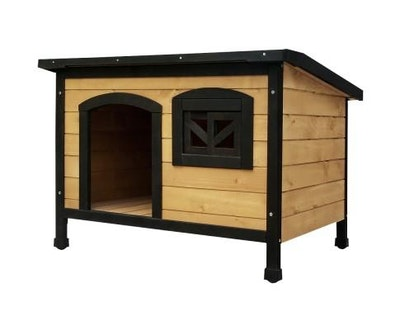 House of Pets Delight Medium Wooden Pet Kennel