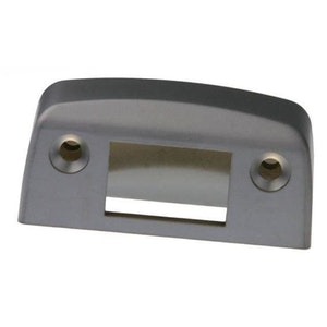 Lockwood 001 dead lock metal frame strike plate kit ONLY in satin pearl finish