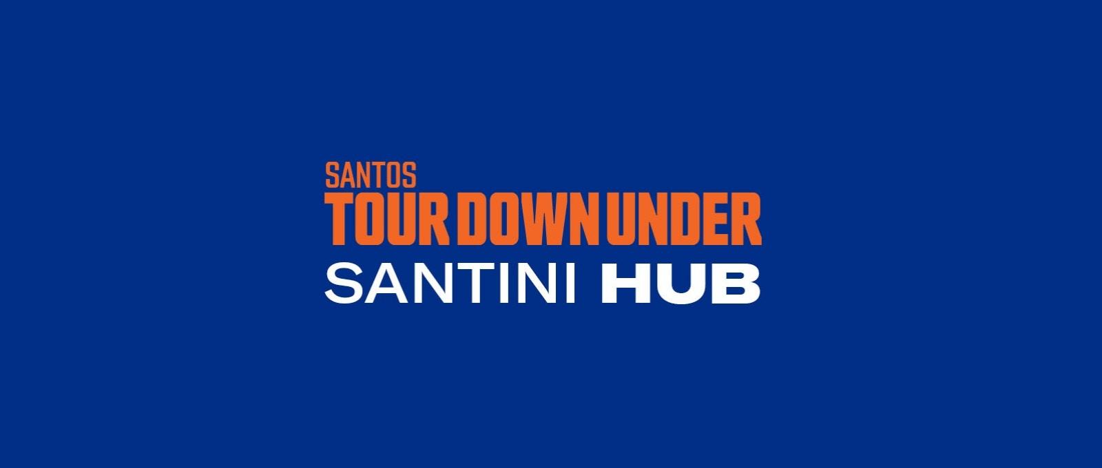 Tour Down Under Santini Hub