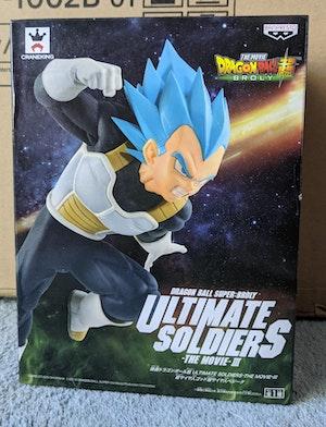Dragon Ball Super: Broly - SSB Super Saiyan Blue Vegeta Ultimate Soldiers - The Movie III Figure