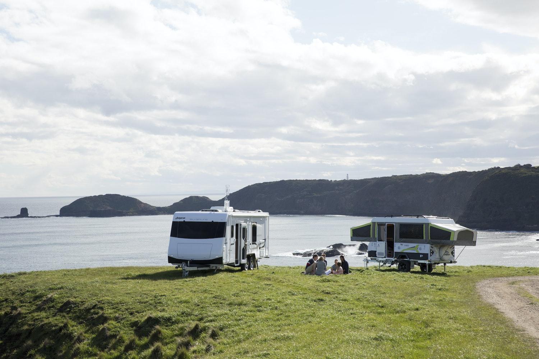 caravan vs camper trailer vs tent