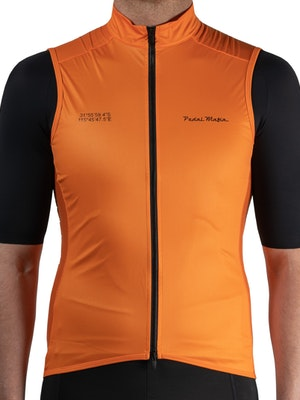 Pedal Mafia Mens Pro Vest - Orange
