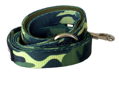 VanityPaws Green Camouflage - Waking Lead