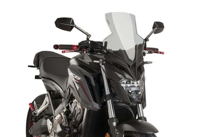 Puig New Generation Sport Screen To Suit Honda CB650F 2014 - 2020 (Smoke)