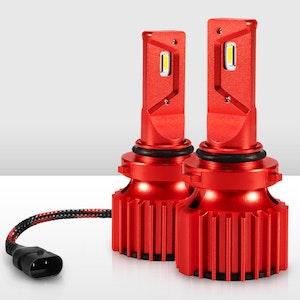 Bunker Indust 9006 HB4 LED Headlight Kit 50W 8000LM Globe Bulbs High/Low Beam