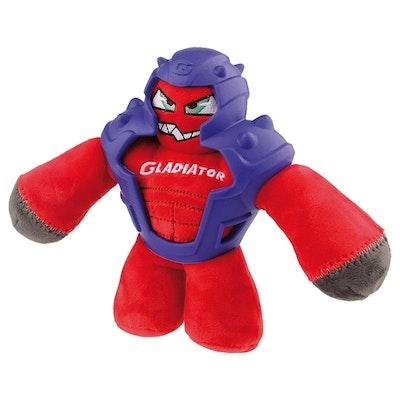 GIGWI Gladiator Plush Red Medium