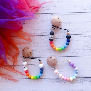 Cheeky Toes™ Cheeky Dummy Clip I RAINBOW Collection