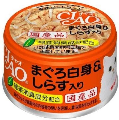 CIAO Tuna White Meat & Baby Sardine Can (85g)