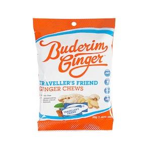 Buderim Ginger Travellers Friend Ginger Chews 50g