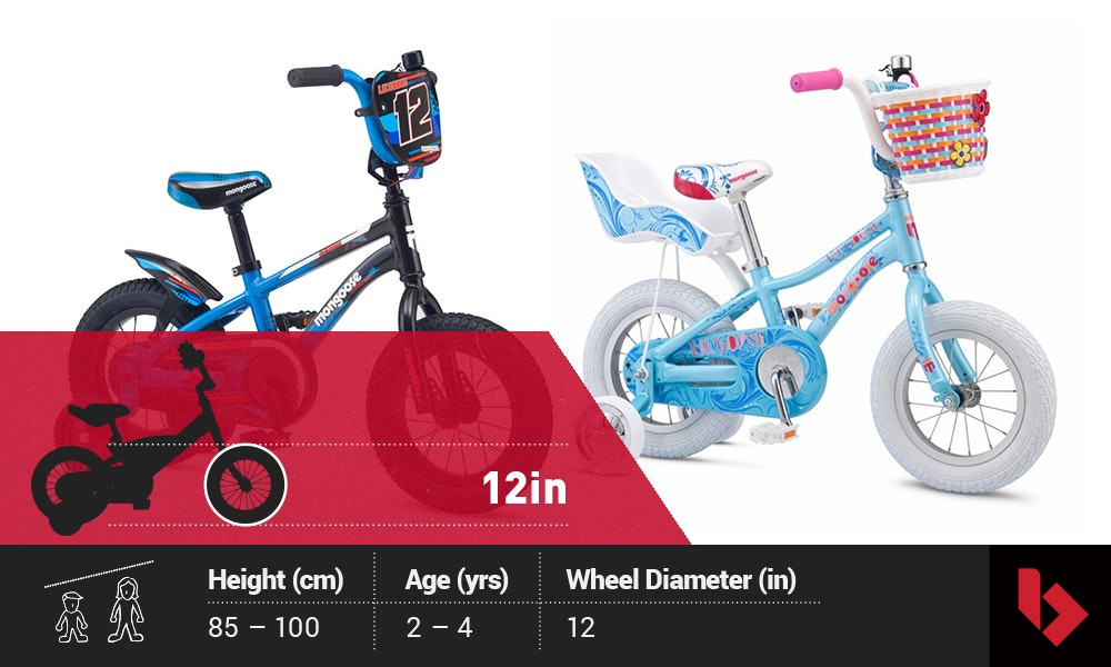 buying a kids bike 12in