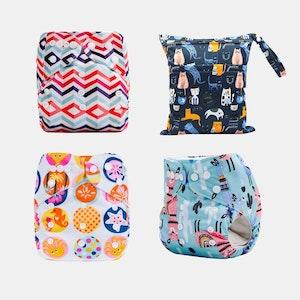 Ekoroo Reusable Cloth Nappy Bundle - SET A