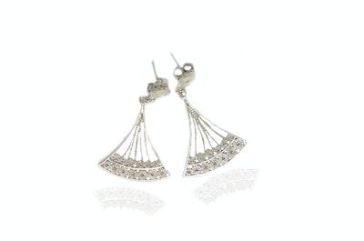 Continente Dorado Carolina Earrings Silver