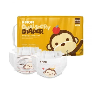 K-Mom Dual Story DIapers/Nappies Size XL 12kg and up (52pcs)