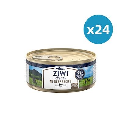 ZiwiPeak ZIWI Peak Cat Beef Recipe Can 85G X 24