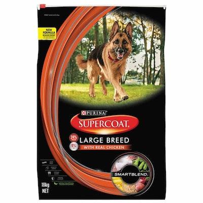 Supercoat Smartblend Large Breed Adult Chicken Dry Dog Food