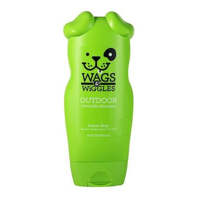 Wags & Wiggles Outdoor Citronella Dog Shampoo Lemon Drop 473ml