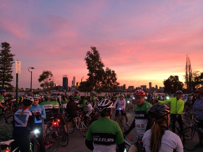 South Perth Rouleurs Sat Group Ride