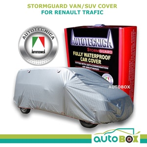 Autotecnica Van Cover Stormguard Fully Waterproof suits Renault Trafic to 5.2m
