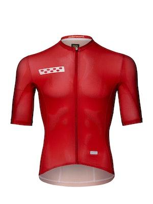 Pedla BOLD / LunaTECH Jersey - Deep Red