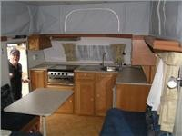 Good kitchen space and equipment E541 tandem