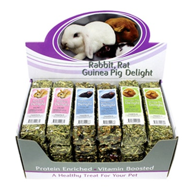PASSWELL Small Animal Tasty Treat Mixed Delights 24 Pack