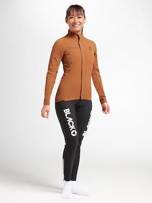 Black Sheep Cycling Women's Elements Micro Jacket - Brown