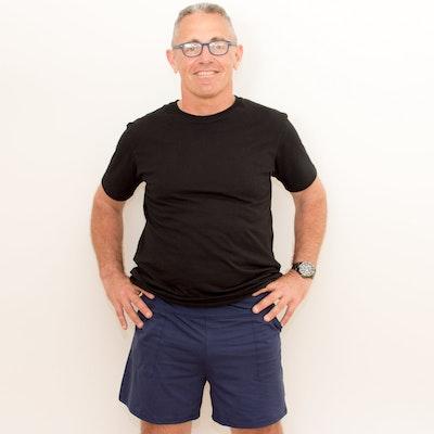 Australian Made Organic Cotton - BJ's PJ's Mikey Lounge Shorts