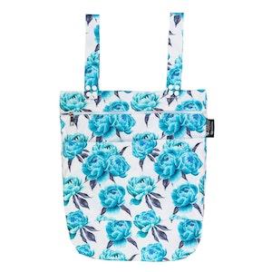 Designer Bums Aquamarine Peony Wet Bag