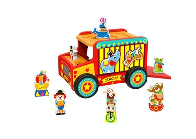 Tooky Toy CIRCUS SAFARI JEEP