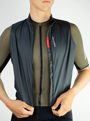 Twenty One Cycling Factory Wind Vest - Grey - Men