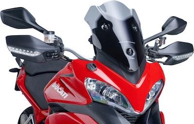Puig Racing Screen To Suit Ducati Multistrada 1200 2010 - 2012 (Dark Smoke)
