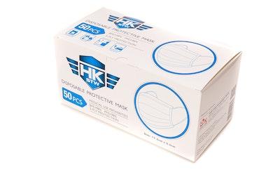 500 x HKSTW Disposable Protective Masks ARTG registered - Deliver to SYD, MEL & ADE ONLY