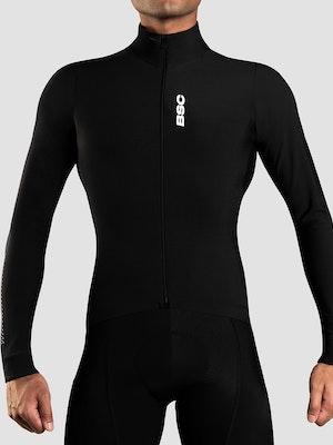 Black Sheep Cycling Men's Elements LS Thermal Jersey - Black