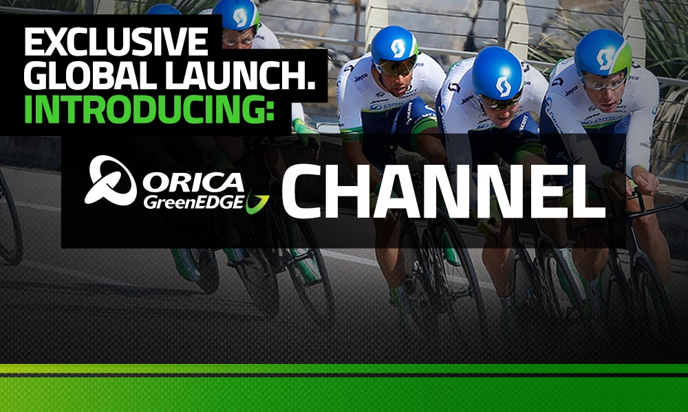 Welcome to the New Orica-GreenEDGE and Orica-AIS Channel