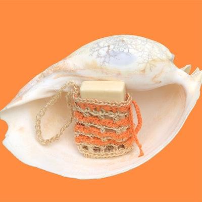 Chauffe-Moi Australia Sisal & Organic Cotton Soap Bag