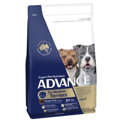 Advance Dry Dog Food Adult Small Breed Terrier 2.5kg
