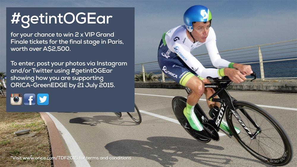 getintOGEar with Orica-GreenEDGE 3872f5fa4
