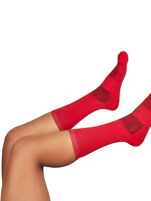 """Taba Fashion Sportswear Media Ciclismo Rombito Rojo 7"""""""