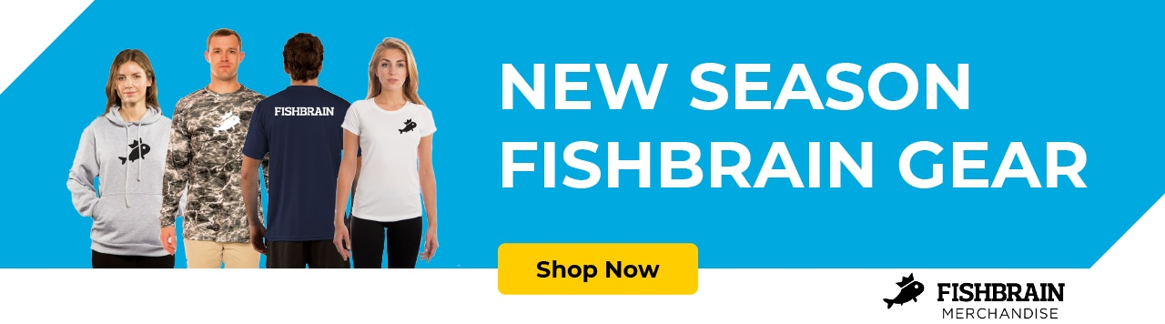 NEW SEASON FISHBRAIN GEAR COMING SOON