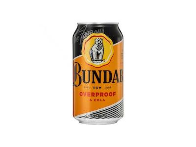 Bundaberg Overproof Rum & Cola Can 375mL