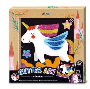 Avenir - Glitter Art - Unicorn