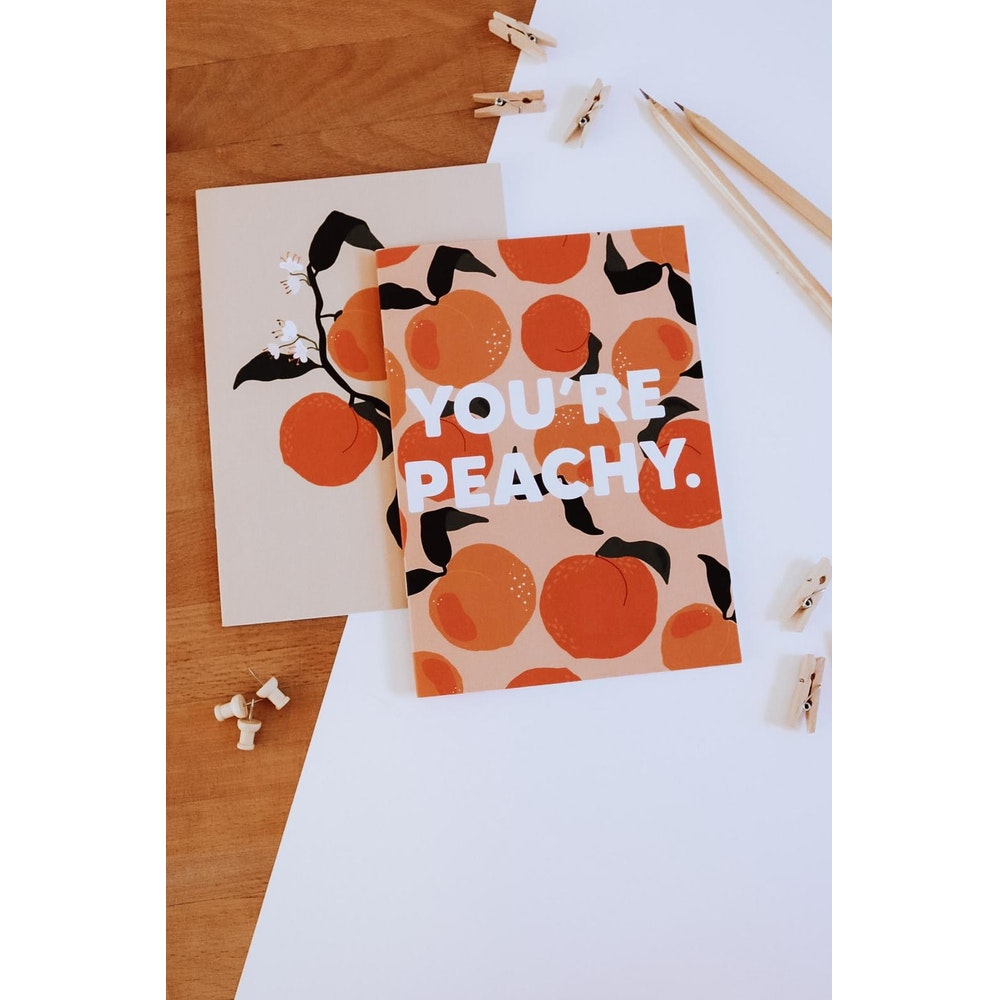 Brew Norfolk you're peachy a5 notebook