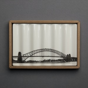 Soap Dish with Sydney Harbour Bridge