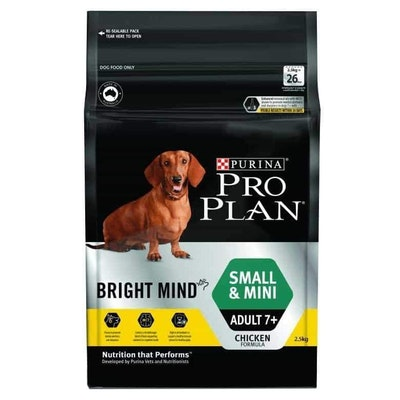 Pro Plan Bright Mind Small & Mini 7+ Senior Dry Dog Food