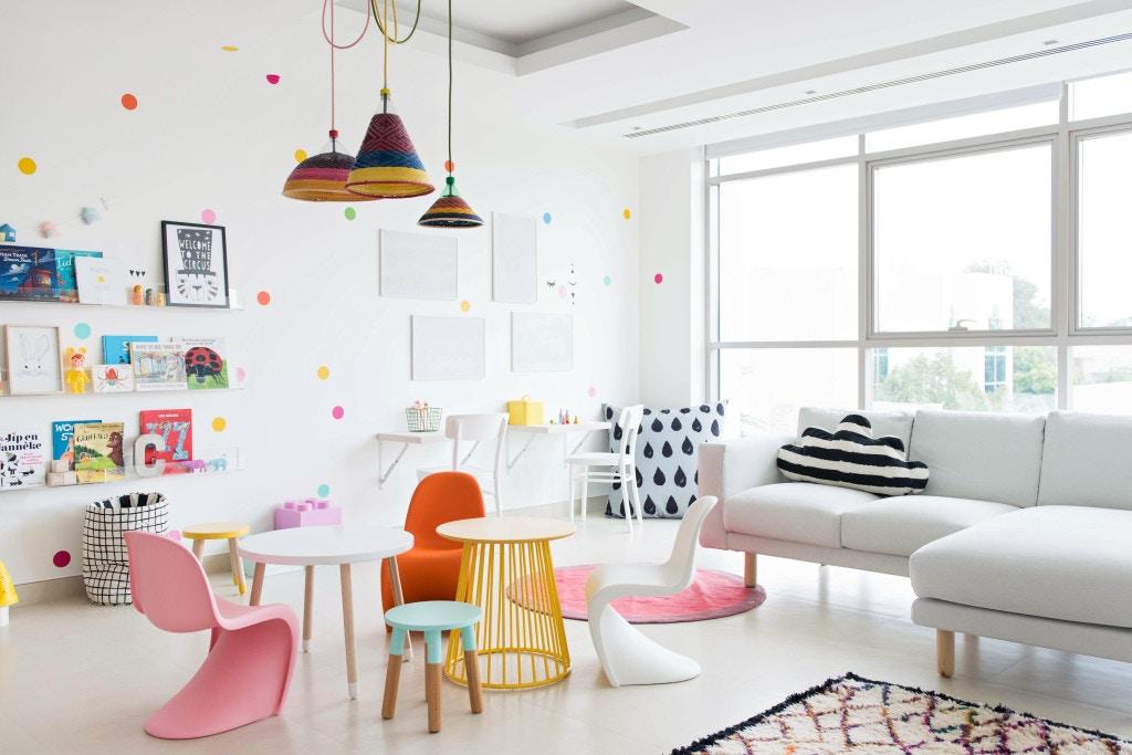 Colourful Kids Playroom