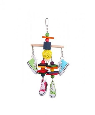 Kazoo Wooden Tee Toy W Sneakers & Chips Large