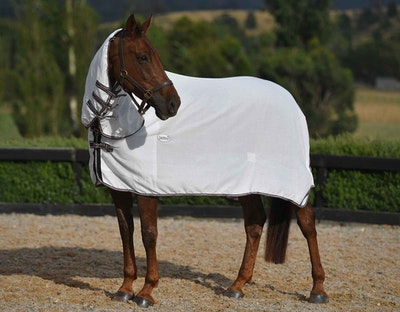 CARIBU Flag Summer Horse Rug Combo